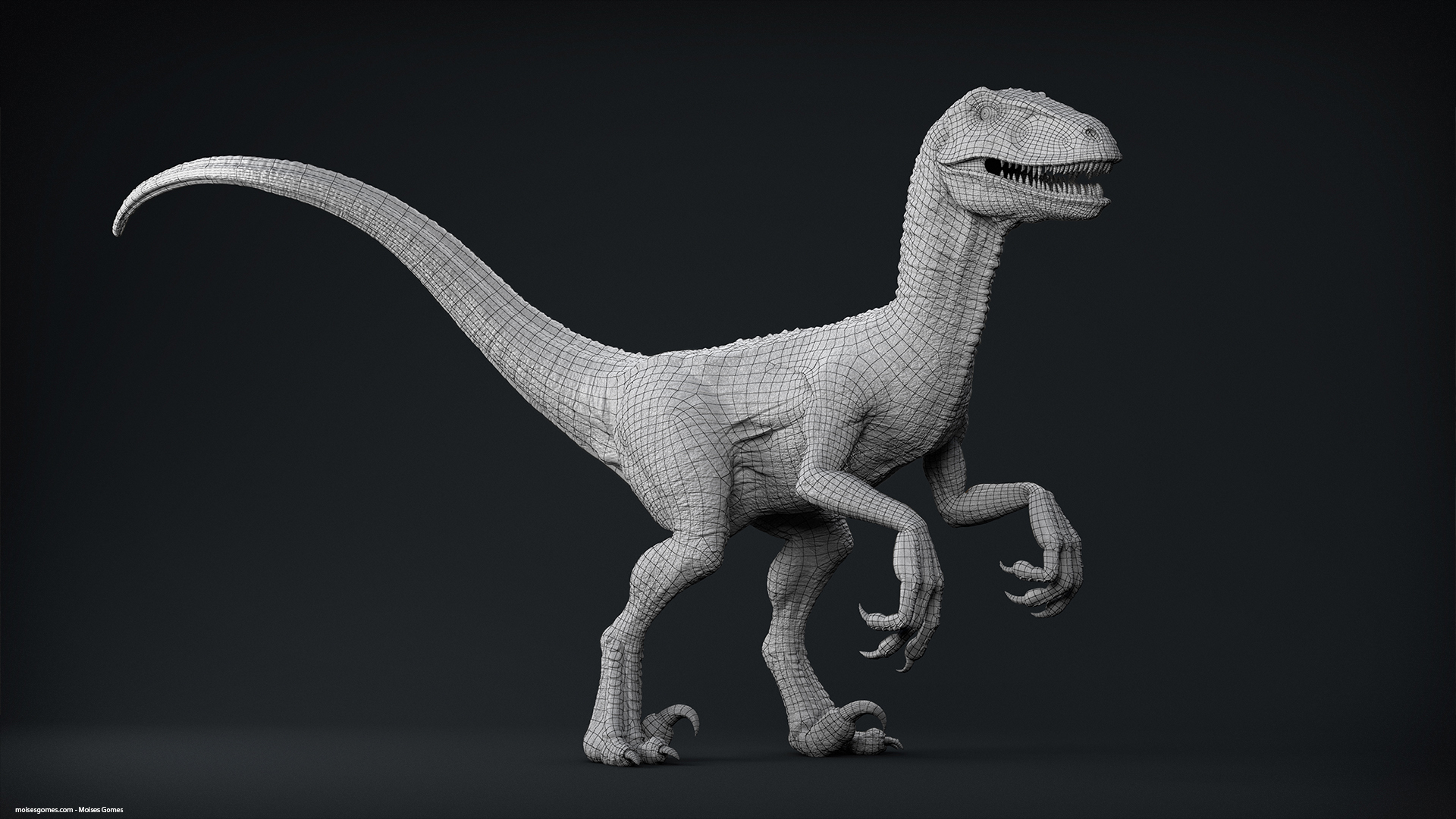 Velociraptor_Pose_00_Clay