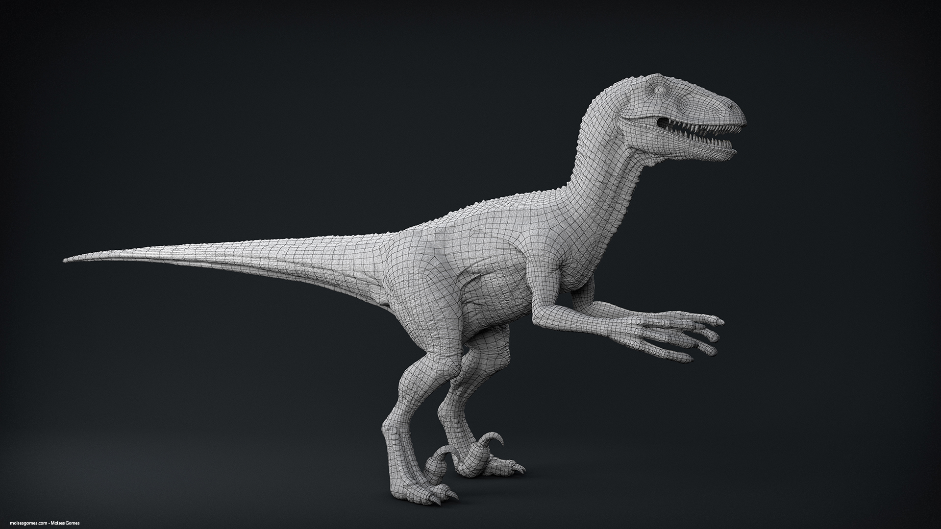 Velociraptor_Pose_01_CLay